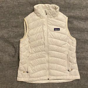 Patagonia Down Puffer Vest Birch White